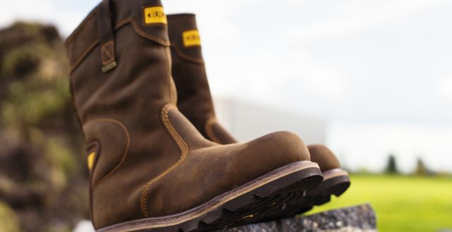 Leren werklaarzen en veiligheidslaarzen bestellen!