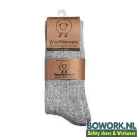 Wollen sokken Woolwarmers Grijs