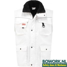 Bodywarmer Workman Wit 2142