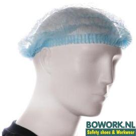 Haarnetjes polypropyleen blauw