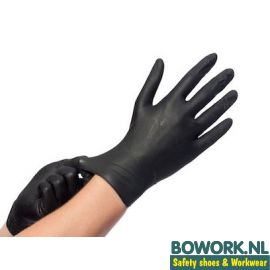 Disposable Nitril handschoenen Zwart Ongepoederd