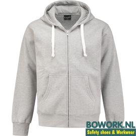 Hooded Sweatvest Grijs Melee 8642