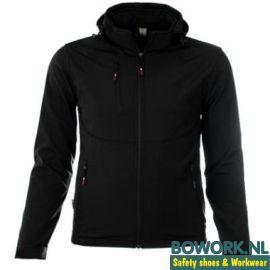 Softshell Jack M-Wear 6100 zwart