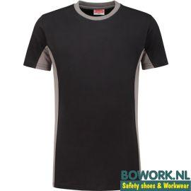 T-Shirt Workman Zwart-Grijs 0406