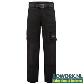Werkbroek Workman Zwart 1065 voorzijde