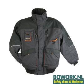 Werkjas Terratrend 4629 Grijs-Oranje